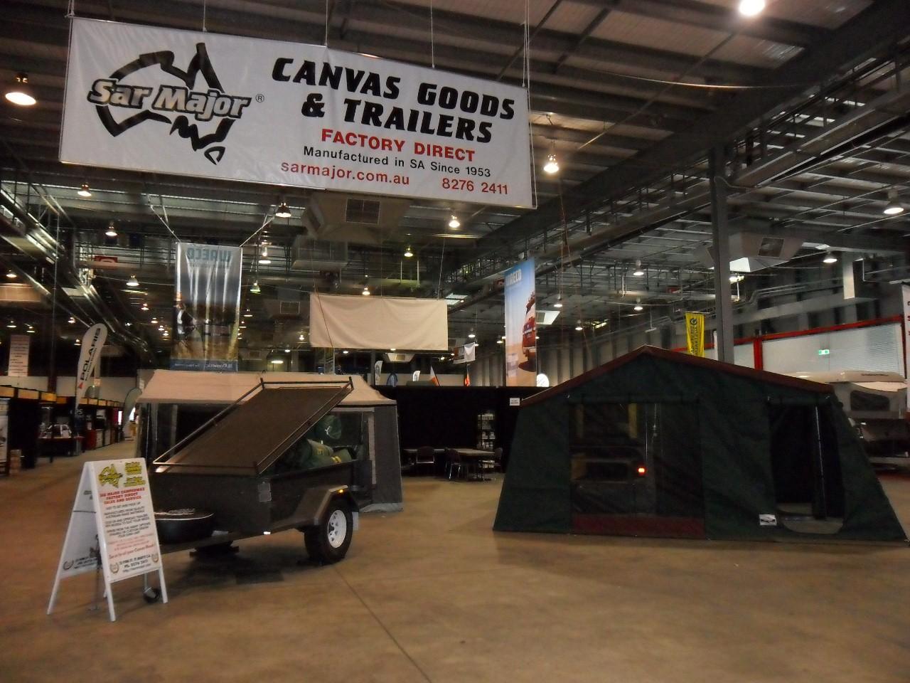 Sar Major Camper Trailer Display Stand
