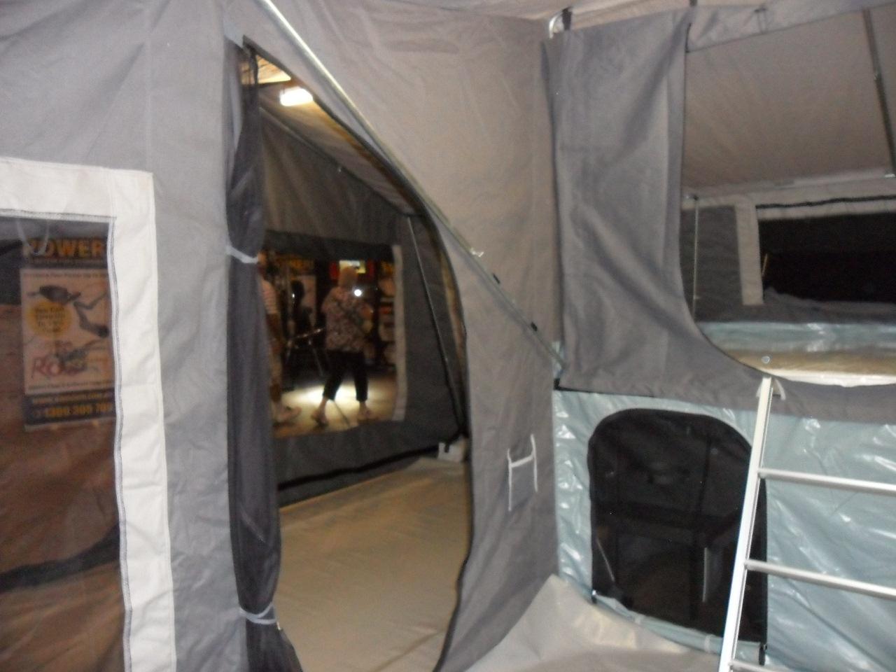 Inside The Camper