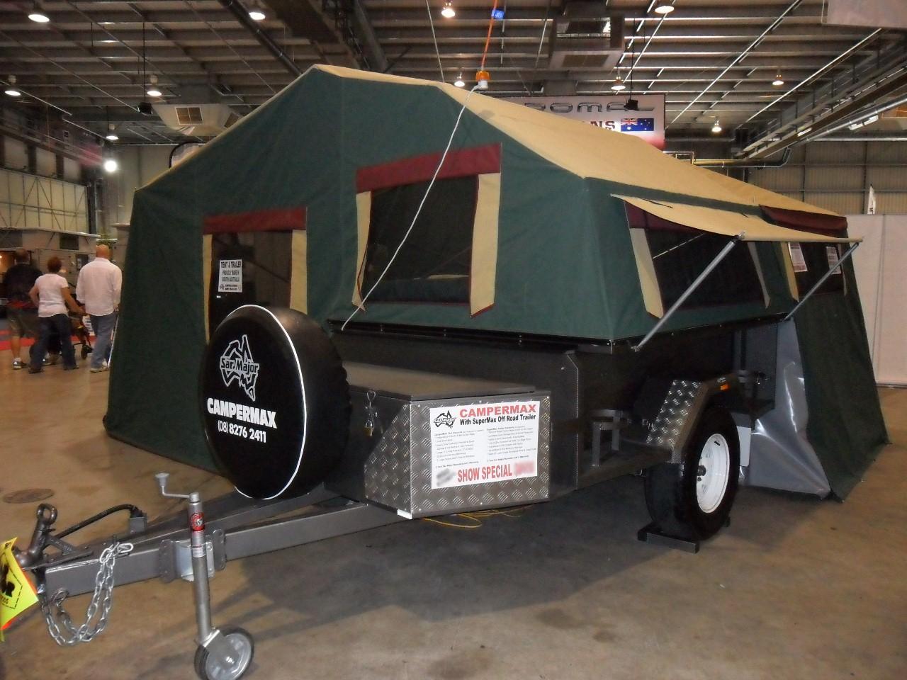 The CamperMax Camper Trailer