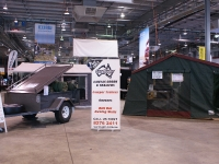 Sar Major Camper Trailer Display Stand