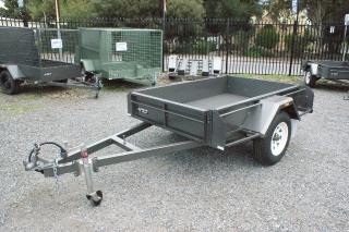 Sar Major Heavy Duty Box Trailer
