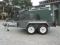 Sar Major Heavy Duty Box Tandem Trailer