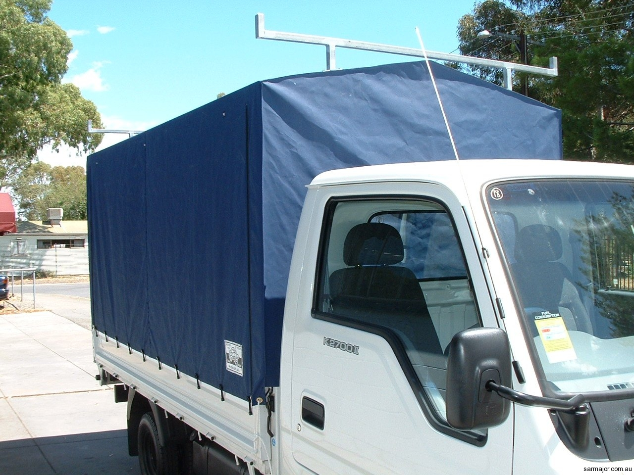 Vehicle canopies sar major canvas goods and trailers - Canvas canopy ...