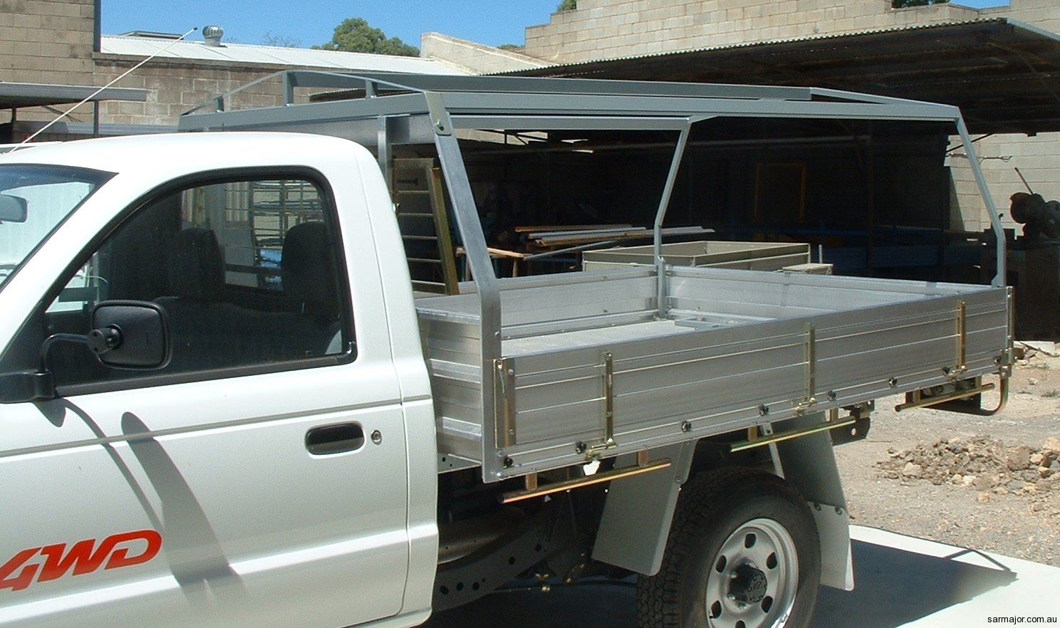 ute-canopy-frame-2 & Vehicle Canopies   Sar Major Canvas Goods and Trailers