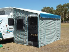 Sar Major Roll Out Awning Walls