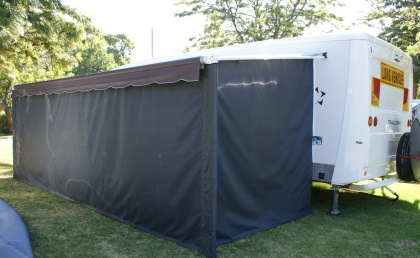 Visiontex Roll Out Awning Walls