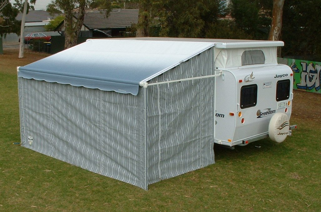 Sar Major Super Deluxe Roll Out Awning Walls