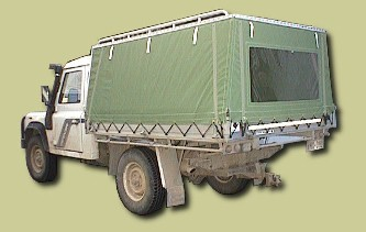 Sar Major Trailer and Vehicle Canopies