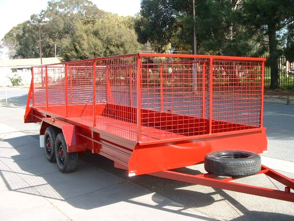 Sar Major Trailer Cages and Canopies