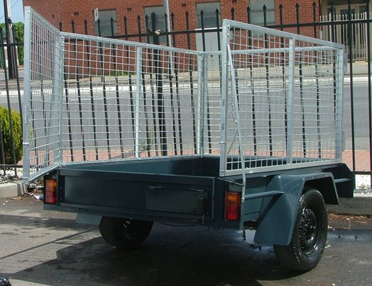 Sar Major Trailer Cage