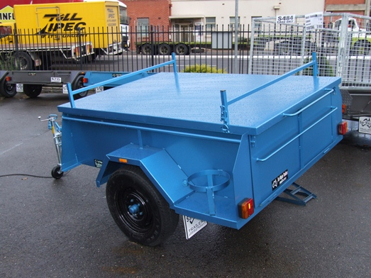 Sar Major Winch Tipper Trailer