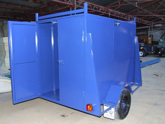 Sar Major Enclosed Trailer