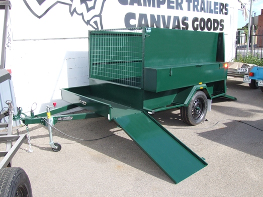 Sar Major Deluxe Garden Trailer