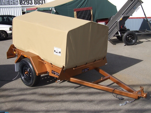 Sar Major Trailers Standard Canopy
