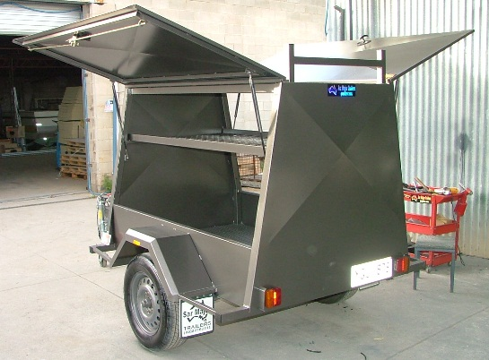 Sar Major Tradesman Trailer with Canopy